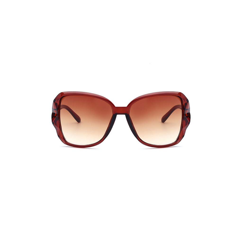 Kosaire Fashion Lady Sunglasses Big Box Lightweight Frame Glasses