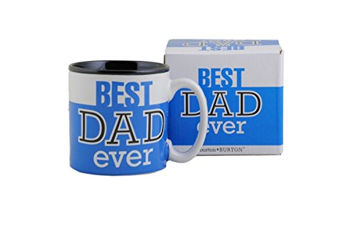 Best Dad Ever 13Oz Coffee Mug Great for Fathers Day or Birthday (1, Blue) (Best Dad Coffee Cup compare prices)