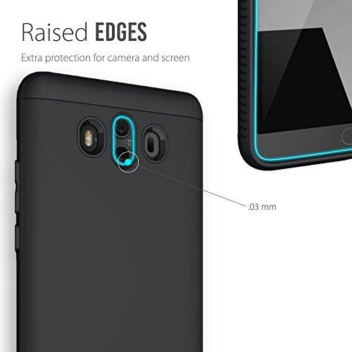 Huawei Mate 10 Funda, Caja protectora TUDIA MERGE TAREA PESADA Protección EXTREME de doble capa para Huawei Mate 10 (Negro Mate) Negro Mate