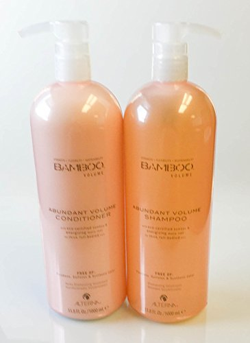 Alterna Bamboo Abundant Volume Shampoo and Conditioner 33.8