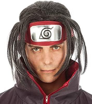 Chaks Naruto Peluca Itachi Uchiha Accesorio de Vestuario ...