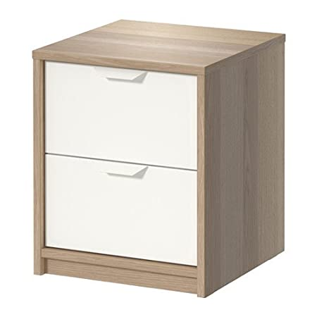 Ikea - Cajonera con 2 cajones, función Atril, Color Blanco: Amazon ...