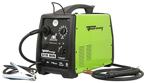 MIG Welder and Flux Cored 210 Amp 230-Volt Transformer Based