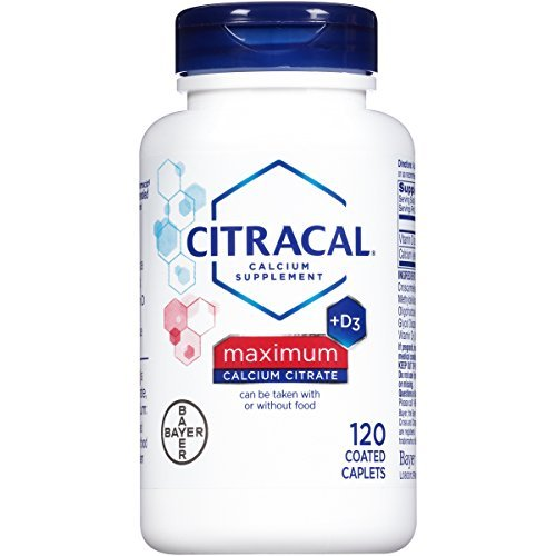 Citracal Maximum Caplets with Vitamin D, 120-Count by Citracal