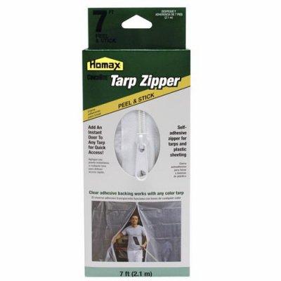 Homax Products/Ppg 3142 7-Ft. Peel 'N Stick Tarp Zipper Door - Quantity 6