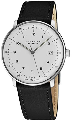 Junghans Max Bill Automatic Mens Watch - 38mm Analog White Face...