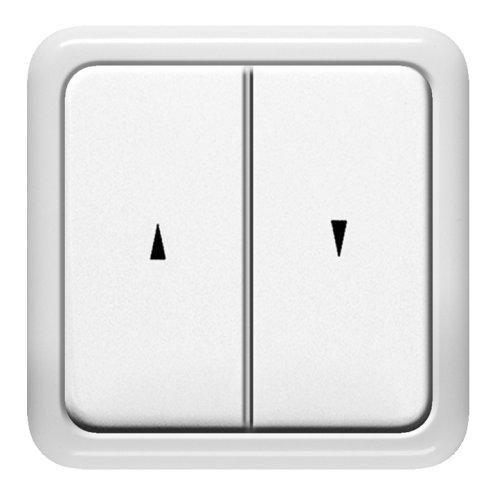 Schellenberg 25006 - Interruptor para persianas empotrado