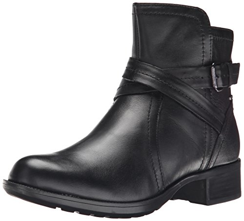 Rockport Cobb Hill  Women's Caroline  Waterproof Boot,  Black, 7 M US