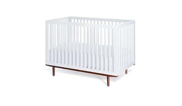 Nice Amazon.com : Muu Ray Crib   White W/Hazelnut Legs (no Panel) : Baby  Products : Baby Images