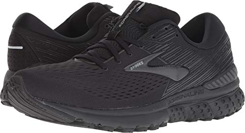 (Brooks Men's Adrenaline GTS 19 Black/Ebony 7 D)