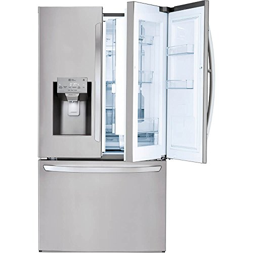 LG LFXS28566S 27.7 Cu. Ft. Stainless French Door Refrigerator with...