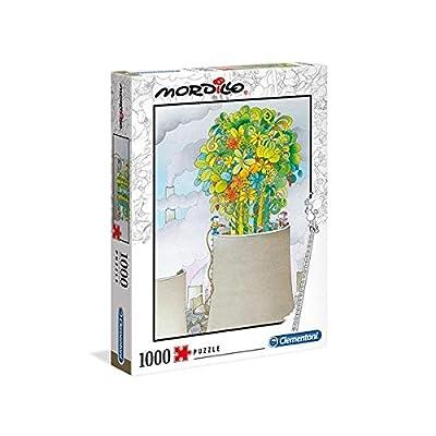Clementoni Mordillo The Cure 1000 Pezzi Made In Italy Adulti Puzzle Cartoni 39535