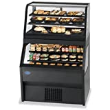 Federal Industries 2CRR3628/RSS6SC Specialty Display Hybrid Merchandiser Refrigerated Self-Serve Bottom With Refrigerated Service Top