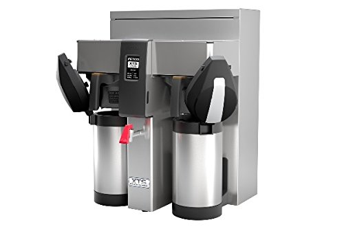 Fetco Dual 3 Liter Coffee Extractor Brewing System With Metal Brew Basket Cbs-2132-Xts-3L-E213252M ()