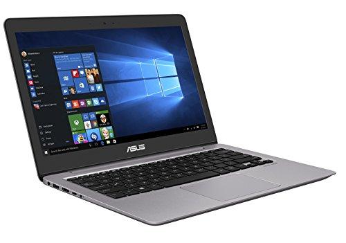 Asus Zenbook UX310UA-FC087T 33,7 cm (13,3 Zoll,mattes FHD) Notebook (Intel Core i7-6500U, HD Graphics, 8GB RAM, 256GB SSD, Win 10) grau
