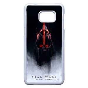 Star Wars X8I4Hp Funda Samsung Galaxy S6 Edge Plus Nota 5 Borde caja del teléfono celular funda blanca O4S3IW caja del teléfono Funda protectora dura