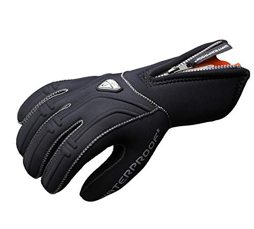 Waterproof G1 5mm 5-Finger Gloves, Medium