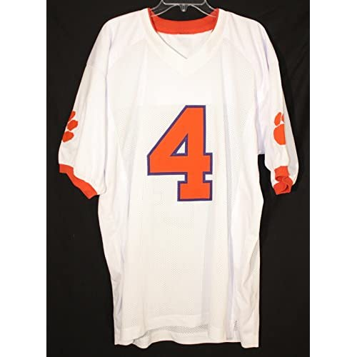 uk availability 283cc 2829a 80%OFF DeShaun Watson Clemson Tigers Signed Autographed ...