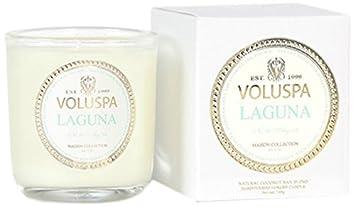 Amazoncom Voluspa Classic Boxed Votive Candle Laguna 3 Ounce Beauty