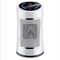 QAQ Home Smart Heater Ceramic Living Room Bedroom Office Bathroom 1500W,Silver,B