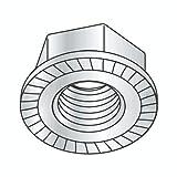 M16-2.00 Hex Flange Locknuts/Serrated/Class 8 / Zinc/DIN 6923 (Quantity: 300)