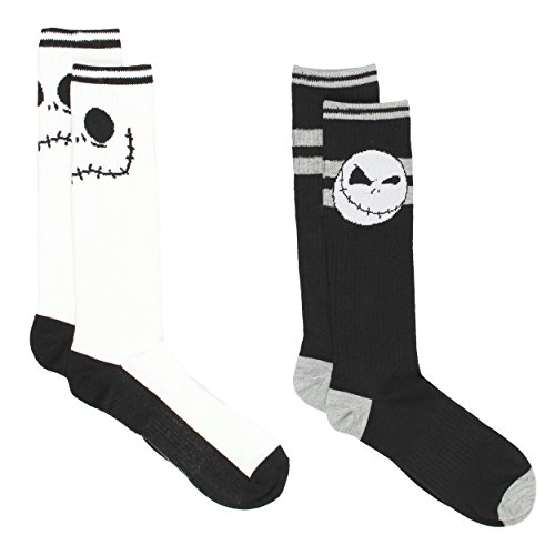 Teen Jack (The Nightmare Before Christmas Teen Mens 2 pack Socks (10-13, Jack)