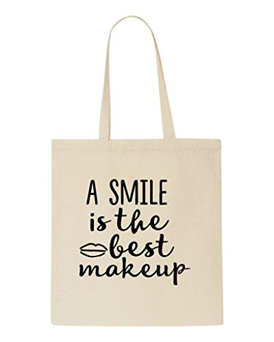 Tote Statement The Make Shopper Is Best Bag Beige Smile A Up TwFqPP