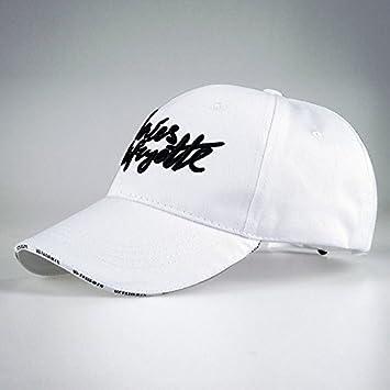 YXLMZ Señoras Parejas Sombreros de Mujer Hat Cap de Hombres Moda Invierno Gorra Blanca Personalizada: Amazon.es: Hogar