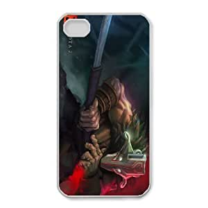 iphone4 4s White phone case Juggernaut Dota 2 DOT5248777
