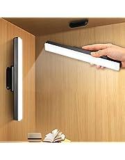 HUSHUI LED-skrivbordslampa, magnetisk garderobslampa USB uppladdningsbar under skåp belysning bordslampor för hem kontor kök garderob sovrum