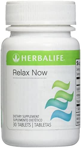 Herbalife Relax Now 30 Tablets - An Herbal Supplement to Ease Anxiety and Stress