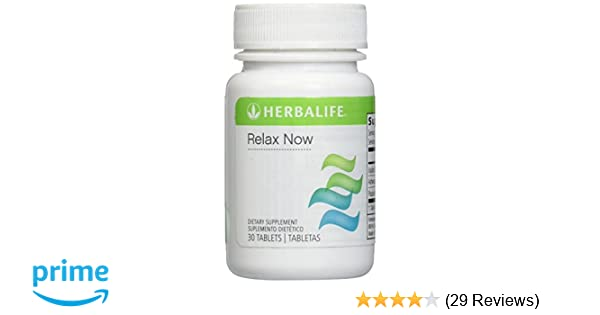 Amazon.com: Herbalife Relax Now 30 Tablets - An Herbal Supplement to Ease Anxiety and Stress: Health & Personal Care