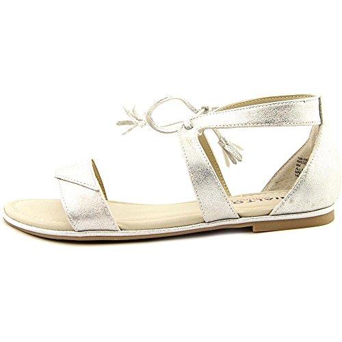 Rialto - Sandalias de vestir para mujer Silver Smooth