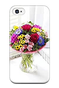 Best New Arrival Cover Case With Nice Design For Iphone 4/4s- Summer Flowers