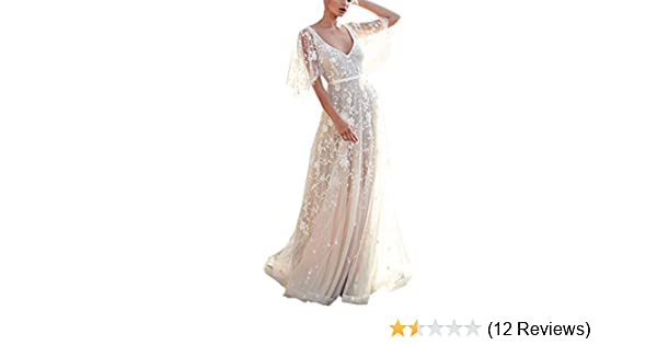 Amazon.com  Wedding Bridesmaid Long Dress 41c2ec31f05f