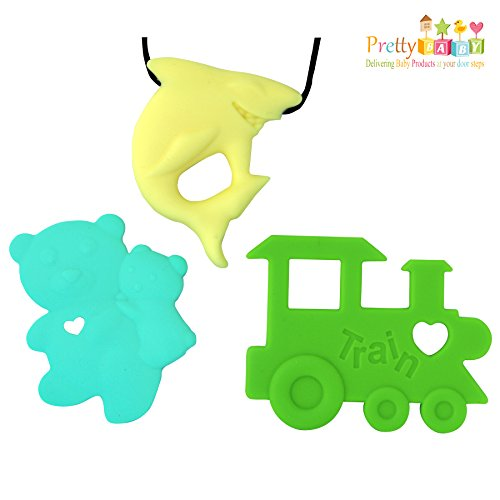 Silicone Baby Teething Necklace Fuzziness