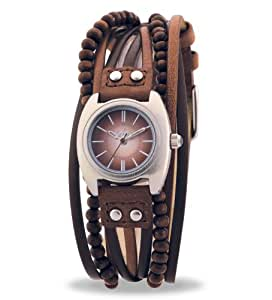Amazon.com: Kahuna kls-0083L Ladies Brown Leather Cross