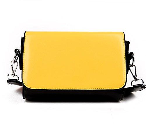 A&N - Bolso bandolera Mujer amarillo
