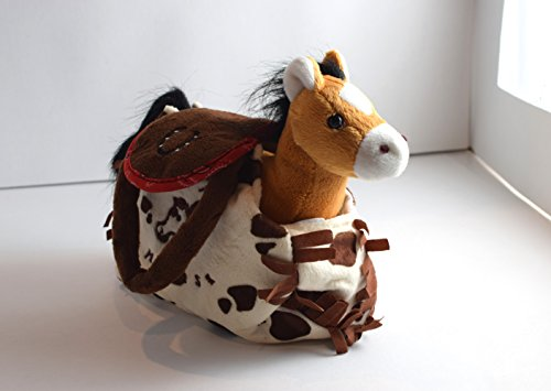 My Cuddly Pony I Love My Horse Buckskin Plush Pony and Paint Purse (Horse Paint Plush)
