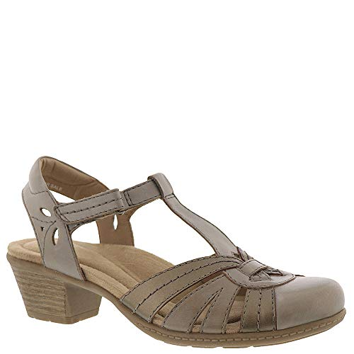 Calfskin Womens Casual Shoes - Earth Origins Marietta Michaela Women's Pump 8 B(M) US Grey-Nickel