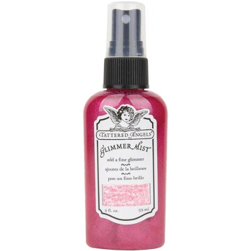 Tattered Angels GLM-20021 Glimmer Mist, 2-Ounce, Tropical - Angels Glitter Tattered Spray