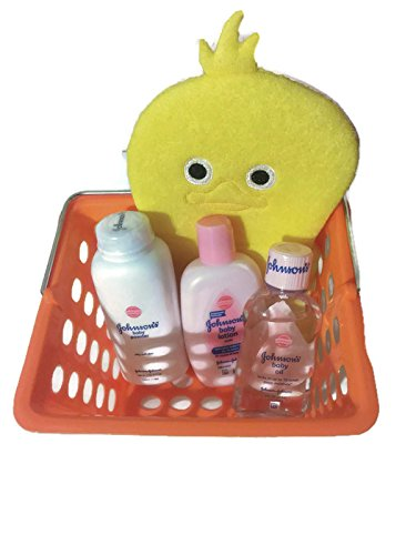 Yellow Ducky Baby Bath Gift Set