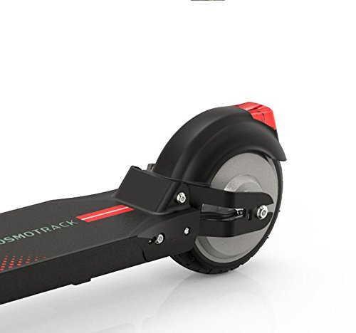 Patinete Eléctrico Lionman K7 E-Scooter (Rojo) Plegable ...