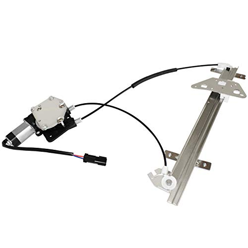 Driver Durango - Front Drive Side Power Window Regulator Motor Assembly Compatible for 98-04 Dodge Durango & 00-04 Dodge Dakota