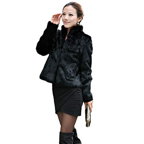 サクララ(Sakulala) 毛皮コート フェイクファー フェイクファーショール ファーコート 体型カバー 秋冬 防寒 お呼ばれ 最高贅沢感 ふわふわ 暖かさ