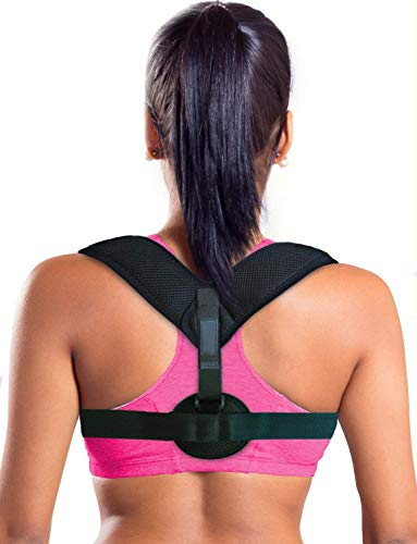 VOTALA Figure 8 Posture Corrector Clavicle Support Brace for Upper Back & Shoulder, Best Brace Help to Improve Posture for Men & Women