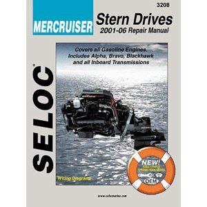 new SELOC SERVICE MANUAL Mercruiser Stern Drive 2001-08