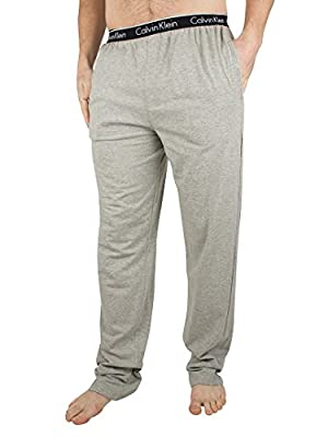 Calvin Klein Men's Logo Waistband Pyjama Bottoms, Grey