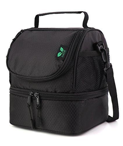 F40C4TMP Borsa Termica Borsa Pranzo Isolato Lunch Box con Grande Capacità per Donne Uomini Tote Bag per Pranzo Ufficio Campeggio Preparazione del Pasto JILB005UK-F4
