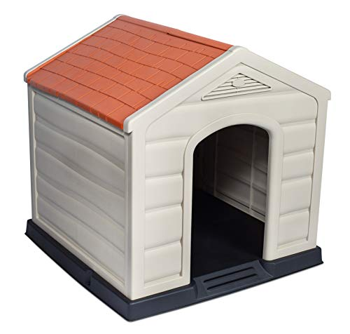 Internet's Best Outdoor Dog House | Medium or Large Dogs | Comfortable...